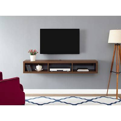 Casey Umber 74 Inch Tv Stands Pertaining To Well Liked South Shore Agora Wall Mounted Media Console Tv Stand For Tvs Up To (View 5 of 20)