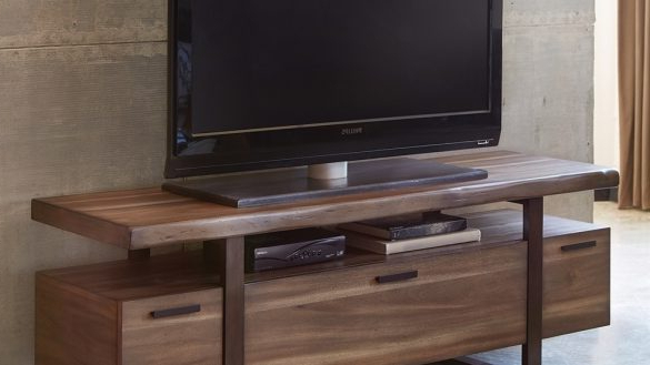 Cast Iron Tv Stands For Fashionable Tv Stand Industrial Brilliant Tv Stands Atticus Low Profile With (View 3 of 20)