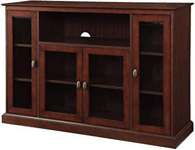 Cato 60 Inch Tv Stands For Recent Amazon: Belmont Home 60 Inch Natural Finish Media Stand: Kitchen (View 6 of 20)