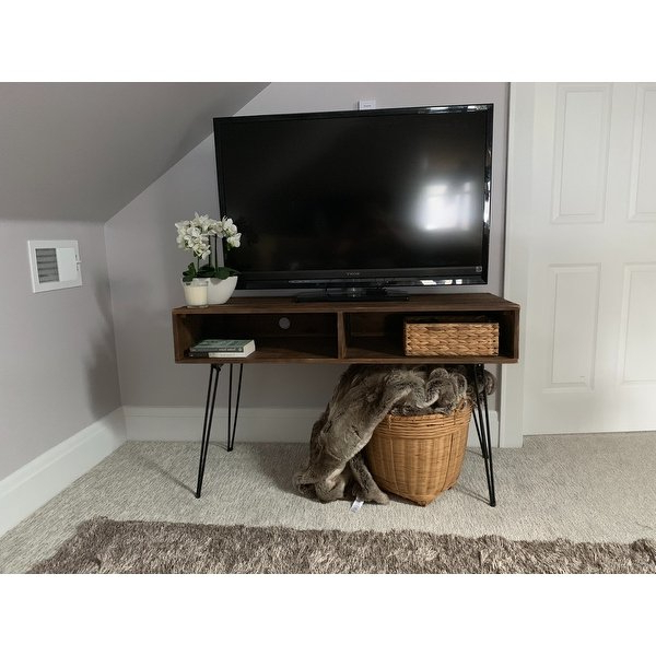Century Sky 60 Inch Tv Stands For Latest Shop Carbon Loft Lee Reclaimed Fir 48 Inch Tv Stand – Free Shipping (View 3 of 20)