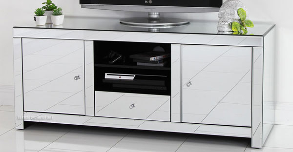 Featured Photo of Mirrored Furniture Tv Unit