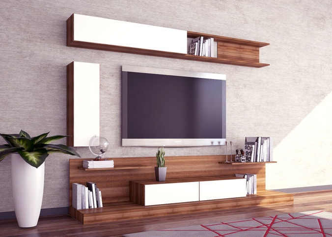 Cgtrader In Modern Tv Units (View 5 of 20)