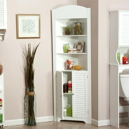 Cheap Corner Tv Stands For Flat Screen Within Well Known Cheap Corner Cabinet Get Quotations A Tall Corner Cabinet White (View 15 of 20)