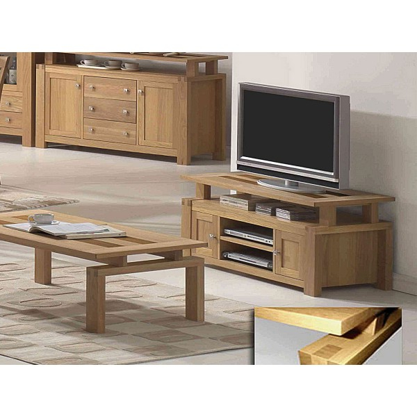Cheap Oak Tv Stands With Regard To Well Liked Cheap Heartlands Ravenna Tv Cabinet For Sale (View 7 of 20)