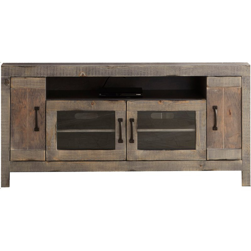 Cheap Rustic Tv Stands In Fashionable 61 Inch Farmhouse Rustic Tv Stand – Devonshire (View 4 of 20)