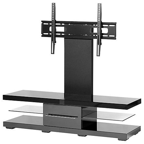 Cheap Techlink Tv Stands Within Well Known Techlink Echo Ec130Tvb Tv Stand For Tvs Up To 50 Inch Tvs, Black (View 5 of 20)