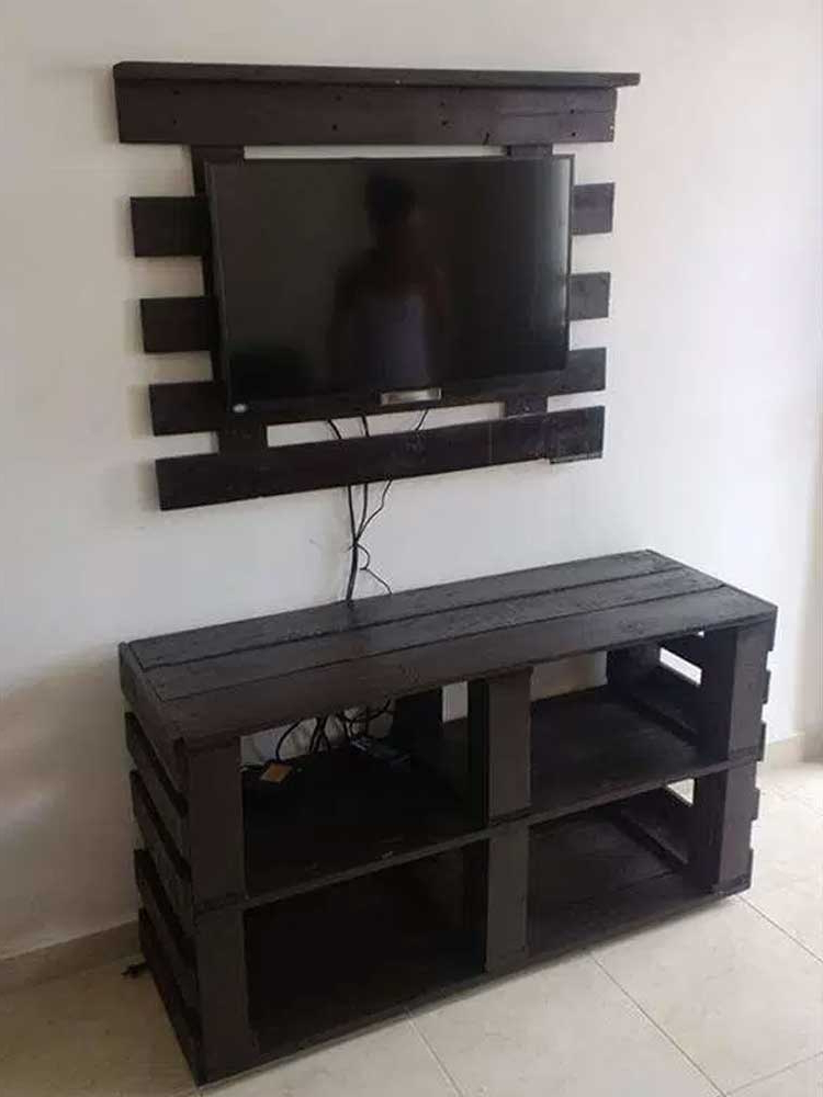 Cheap Tv Table Stands In Popular 21+ Diy Tv Stand Ideas For Your Weekend Home Project (View 5 of 20)