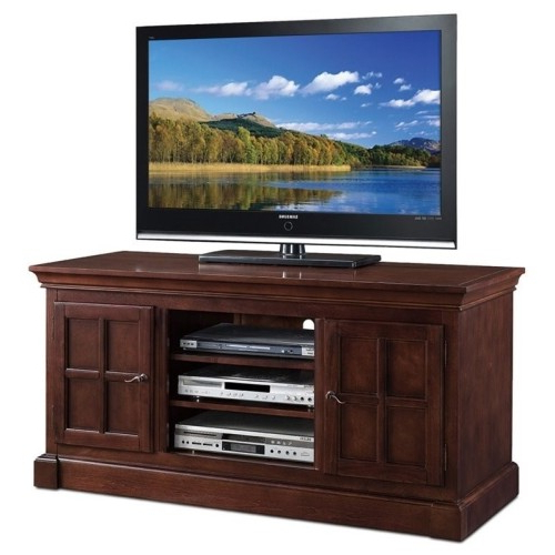 "Cherry Tv Stands Intended For Most Popular Leick Bella Maison 52"" Tv Stand In Chocolate Cherry : Tv Stands (Gallery 9 of 20)"
