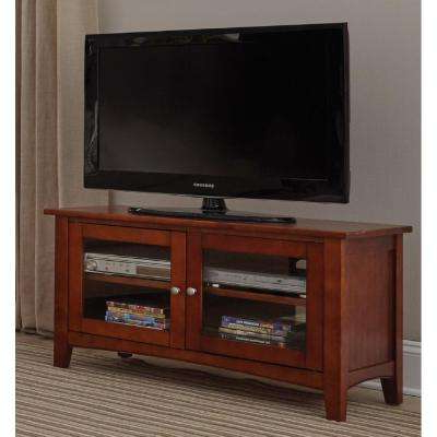 Cherry – Tv Stands – Living Room Furniture – The Home Depot Regarding Widely Used Cherry Tv Stands (View 3 of 20)