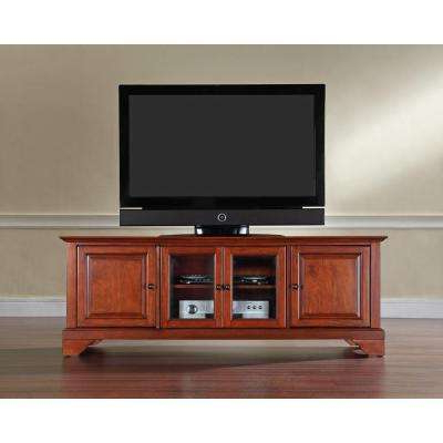 Cherry Tv Stands Regarding 2017 Cherry – Tv Stands – Living Room Furniture – The Home Depot (View 5 of 20)