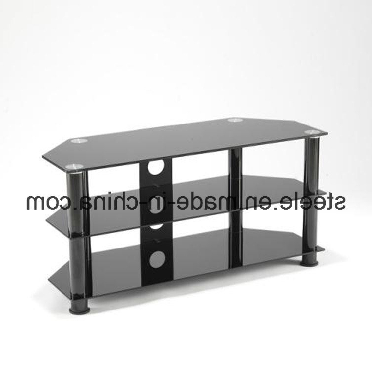 China Modern Black Glass Tv Stand/tv Rack/tv Table/tv Cabinet Throughout Well Liked Black Glass Tv Cabinets (Gallery 13 of 20)