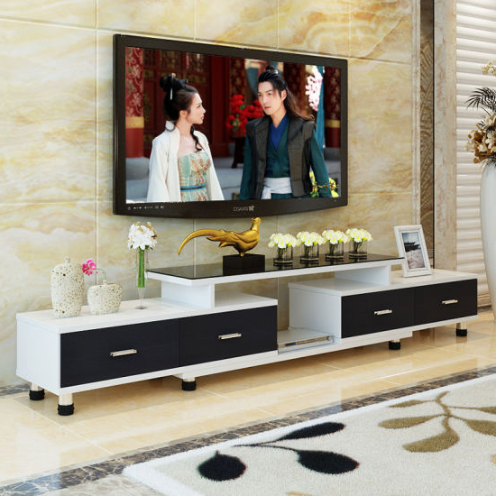 China Modern Style Customizable Wooden Tv Stand Cabinet – China Tv In Most Popular Modern Style Tv Stands (View 16 of 20)