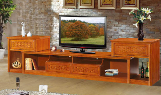 China Modern Tv Stand / Modern Wood Tv Stands With Glass Top With Current Wood Tv Stands With Glass Top (View 2 of 20)