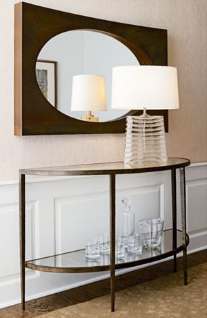 Clairemont Demilune Console Table (Gallery 1 of 20)