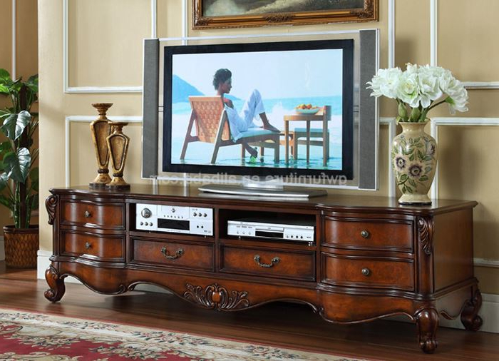 Classic Tv Stands With Regard To Famous Wooden Tv Furniture Tv Stand Pictures China Supplier A94 – Buy Tv (View 8 of 20)