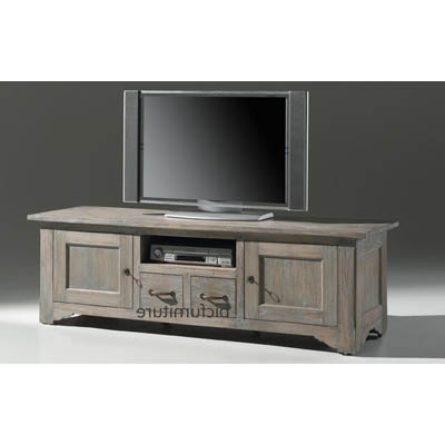 Classic Tv Stands With Regard To Well Known Classic Design Low Tv Cabinet In Teak Wood (View 9 of 20)