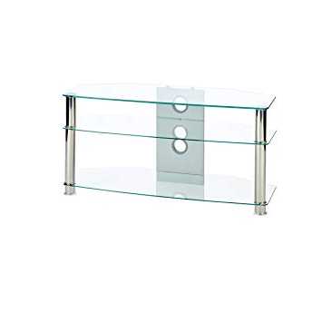 Featured Photo of Clear Glass Tv Stand