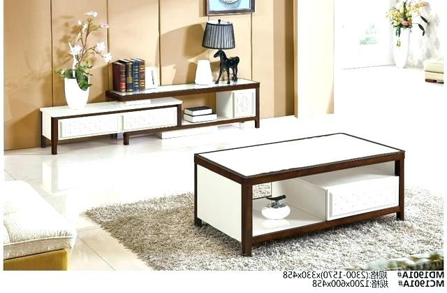 Coffee Table And Tv Unit Sets Pertaining To 2018 Coffee Table And Unit Sets Modern Living Room Furniture Set Tea (View 6 of 20)