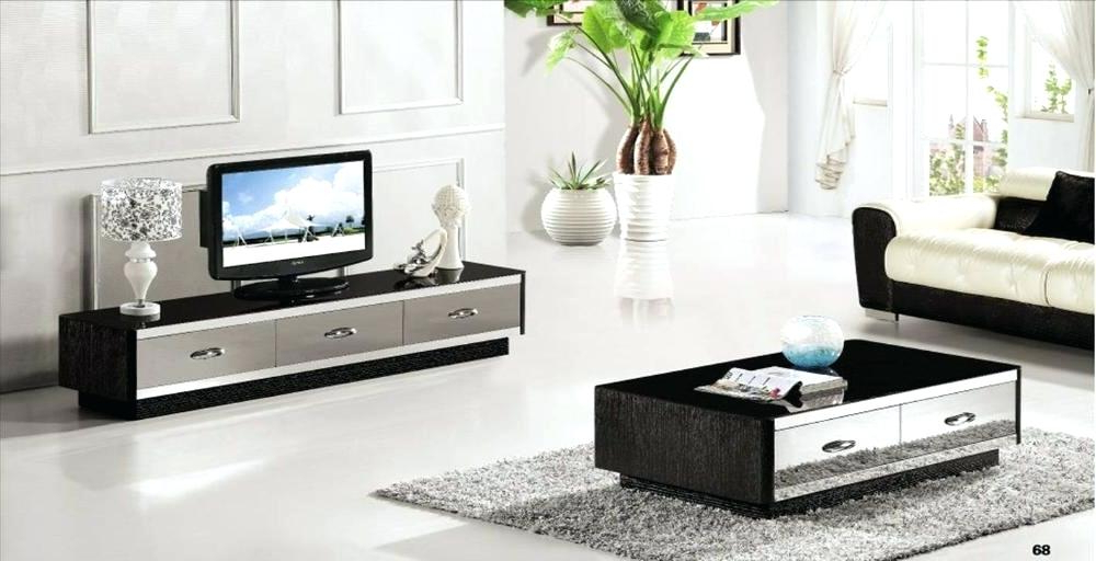 Coffee Table Tv Stand Fabulous Stand And Coffee Table Set Living With Well Liked Coffee Tables And Tv Stands Matching (View 6 of 20)