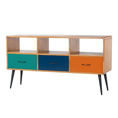Comet Tv Stands Throughout Fashionable Debenhams Teak Comet Painted Tv Cabinet  At Debenhams Via House (View 7 of 20)