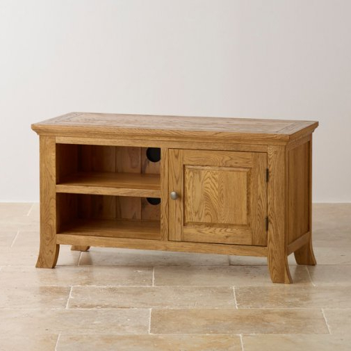 Comfortable Cabinet Design Regarding Oak Tv Cabinets (View 17 of 20)