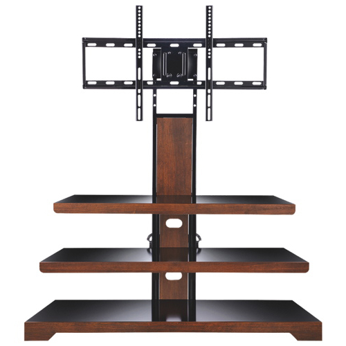 Compact Corner Tv Stands Within 2017 Tv Stands – Corner & Fireplace Tv Stands – Best Buy Canada (View 14 of 20)