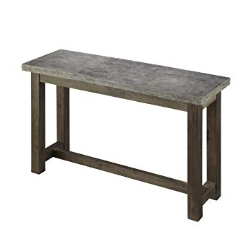 Concrete Top Console Table Amazing Amazon Com Home Styles 5133 22 Intended For Fashionable Parsons Concrete Top & Stainless Steel Base 48X16 Console Tables (View 5 of 20)