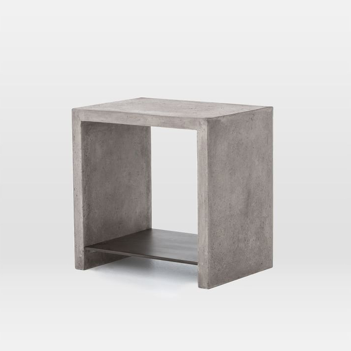 Concrete Top Console Table (Gallery 15 of 20)