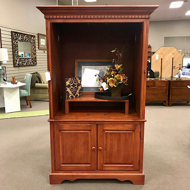 Consign To Design, Llc With Regard To Best And Newest Cherry Tv Armoire (View 13 of 20)