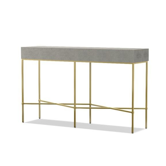 Console For Faux Shagreen Console Tables (Gallery 4 of 20)