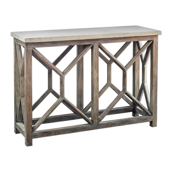 Console Table With Stone Top (Gallery 17 of 20)