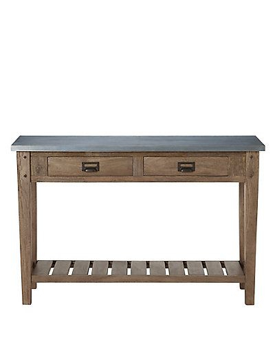 Console Tables, Consoles And Metals Regarding Recent Roman Metal Top Console Tables (Gallery 4 of 20)