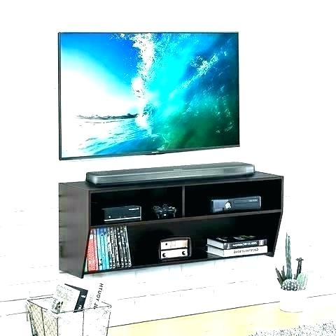 Console Under Wall Mounted Tv Martin Furniture Ascend Wall Mounted Pertaining To 2017 Console Tables Under Wall Mounted Tv (View 7 of 20)