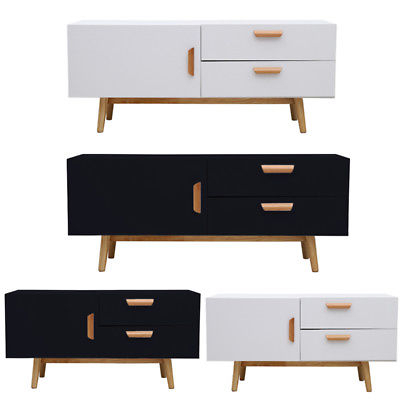 Contemporary Corner Tv Stands For Well Known Modern Corner Tv Stand Cabinet Storage Unit 2 Drawers 1 Door Wood (View 5 of 20)