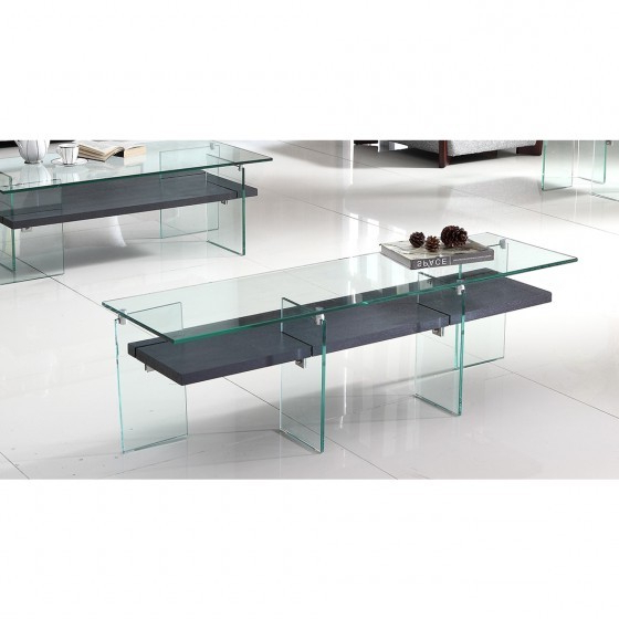 "Contemporary Glass Tv Stands Pertaining To Best And Newest Contemporary 55"" Glass Tv Stand Br04 T (View 5 of 20)"