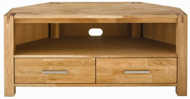 Contemporary Oak Tv Stands Inside Widely Used Royal Oak Corner Tv Unit – Living Room (View 5 of 20)