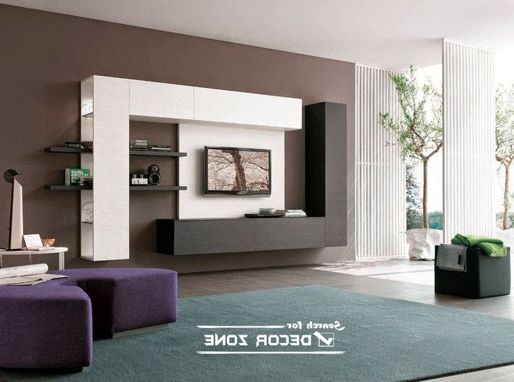 Contemporary Tv Cabinets With Regard To Recent Cool Ideas For, False Ceiling Led Lights And Modern Led Wall Light (View 4 of 20)