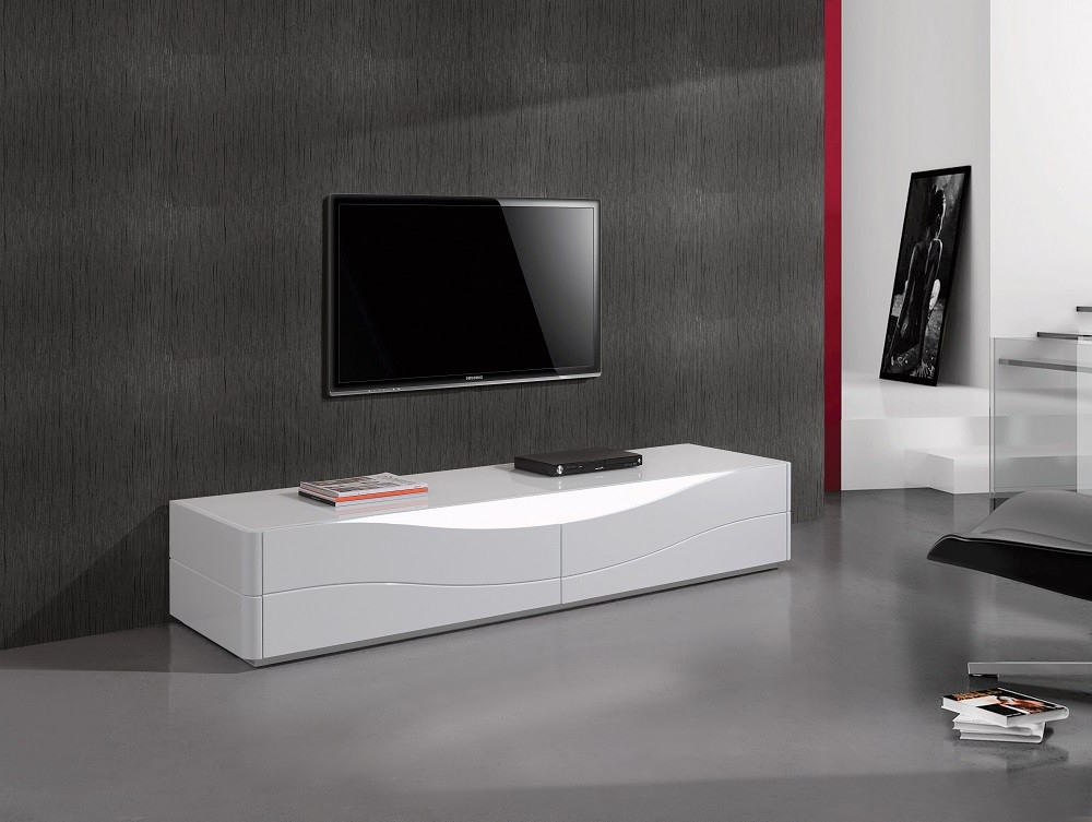 Contemporary Tv Stands For Famous Contemporary White Tv Stands (View 2 of 20)