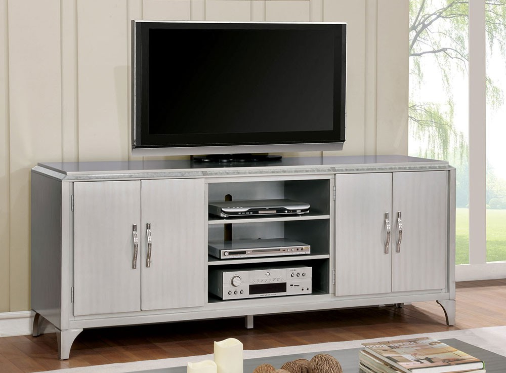Contemporary Tv Stands Regarding Most Up To Date Silver River Contemporary Tv Stand (View 6 of 20)