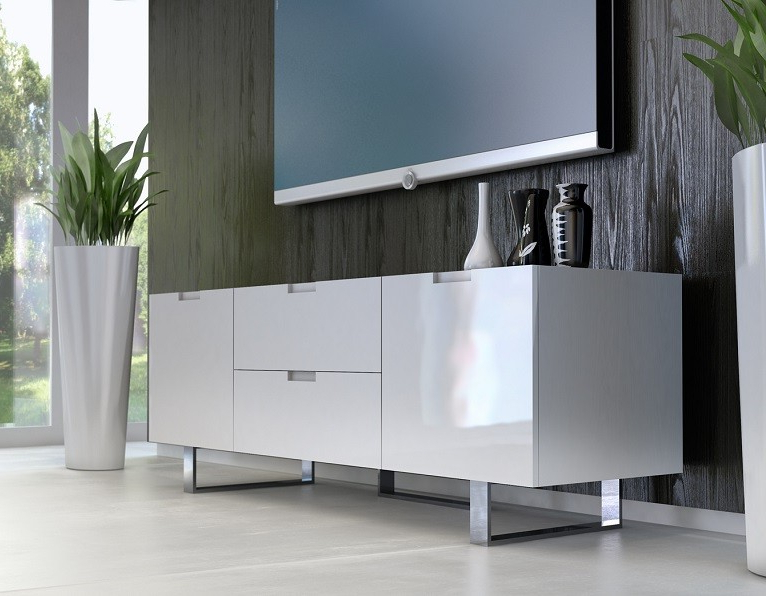 Contemporary Tv Stands With Regard To 2017 White Contemporary Tv Stands (View 7 of 20)