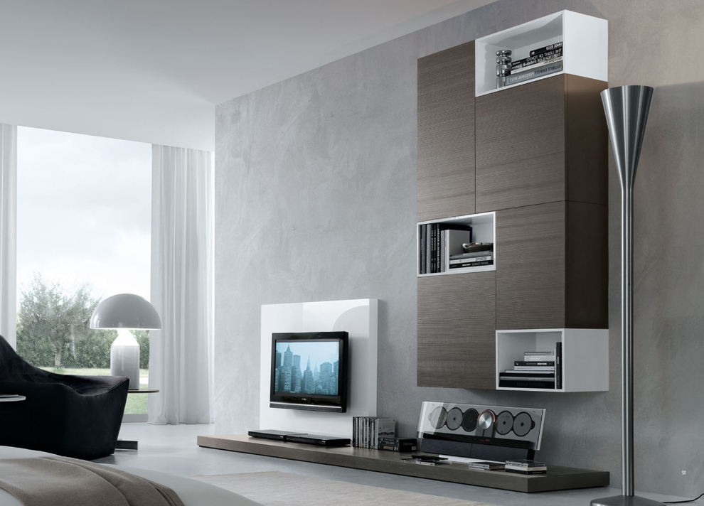 Contemporary Tv Wall Units For Large Tv — All Contemporary Design For Most Current Contemporary Tv Wall Units (View 6 of 20)