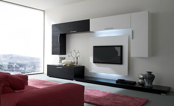 Contemporary Tv Wall Units In 2017 Contemporary Modern Tv Wall Contemporary T V Unit Wooden F O R M A (Gallery 10 of 20)