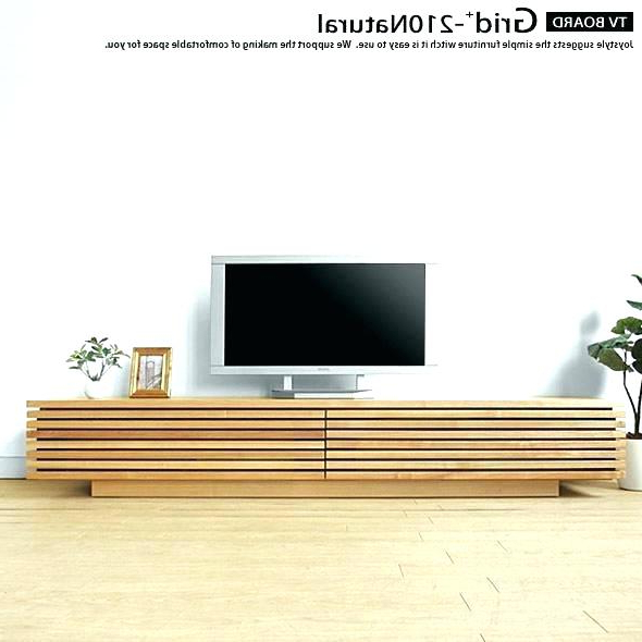 Contemporary Wood Tv Stands Intended For Well Liked Modern Wood Tv Stand Sonorous Troy With Hidden 1 4 A Best Images On (View 18 of 20)