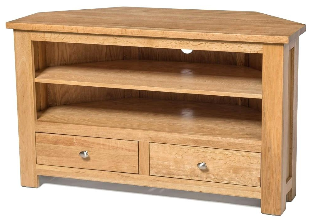 Corner Oak Tv Stands For Flat Screen Inside Best And Newest Light Oak Tv Stands Flat Screen – Girlsinthegame (View 8 of 20)