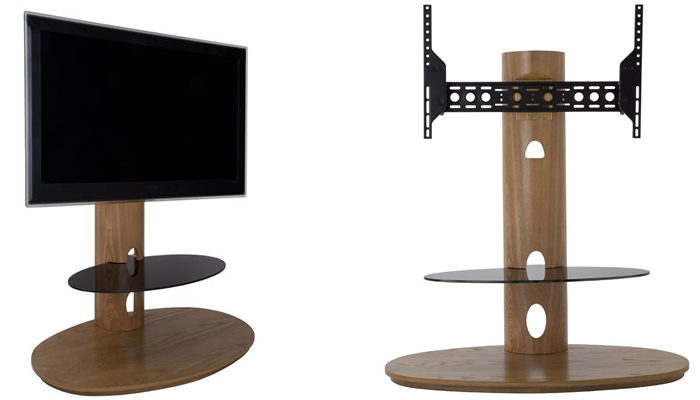 Corner & Swivel Designs In Trendy Slim Tv Stands (View 3 of 20)