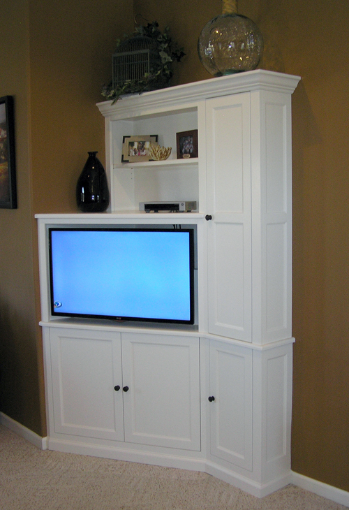 Corner Tv Cabinet Pertaining To Well Known Corner Tv Cabinets (View 5 of 20)