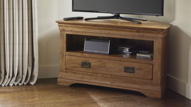 Corner Tv Cabinets For Most Current Corner Tv Cabinets And Corner Tv Units (View 12 of 20)
