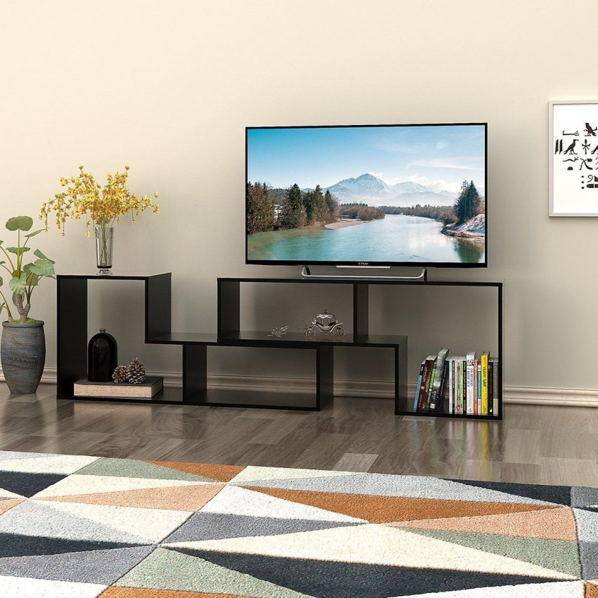 Corner Tv Cabinets With Glass Doors Inside Favorite Tv Stands And Entertainment Centers : Corner Cabinet Tv Furniture Tv (View 3 of 20)