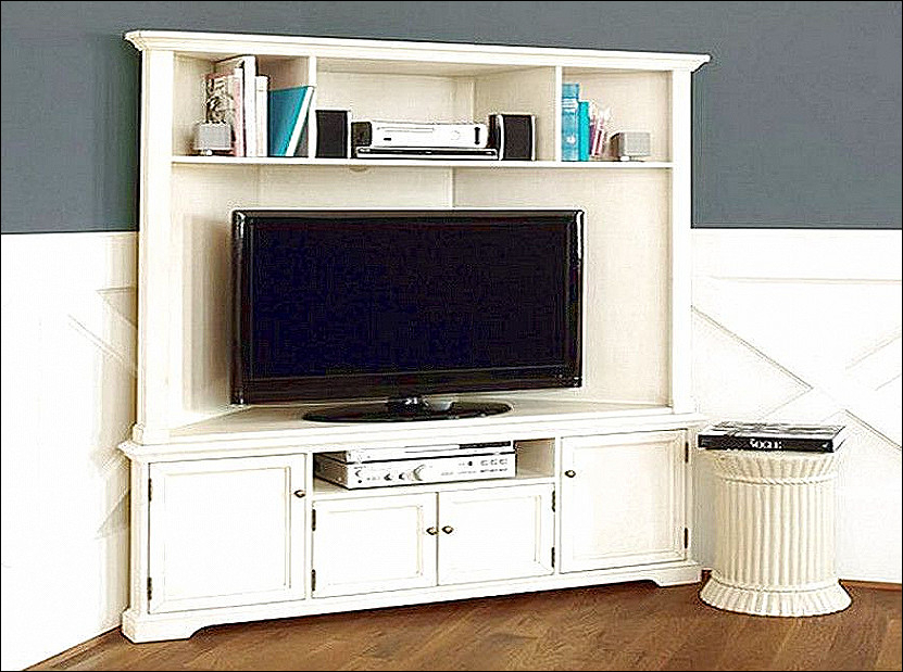 Corner Tv Cabinets With Hutch In 2018 20 Diy Corner Tv Stand (View 4 of 20)