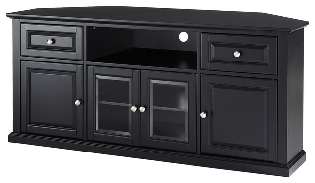 "Corner Tv Stands For 60 Inch Tv Regarding Most Recent 60"" Corner Tv Stand – Traditional – Entertainment Centers And Tv (View 7 of 20)"